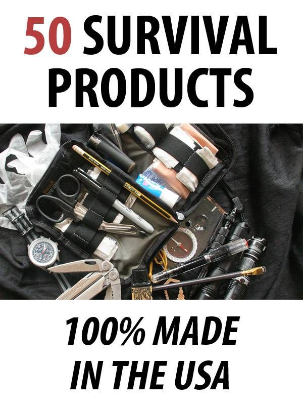 Survival Products Supplier In USA